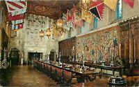 Chrome Postcard CA E190 Heartst San Simeon State Monument The Refectory 1968