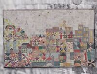 My Small World - pieced & applique quilt PATTERN - Jen Kingwell