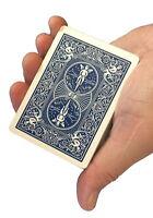 Rock Ridge Magic Invisible Deck Playing Cards Magic Trick Kit, (Blue, 1 Pack)