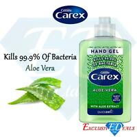 Carex Hand Gel Aloe Vera 300ml Kills 99.9% Anti-Bacteria Family Size Bottle