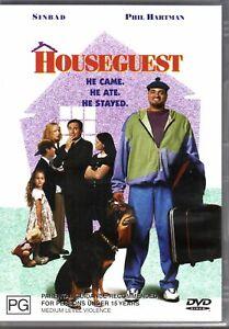 HOUSEGUEST - DVD R4 (2004) Sinbad Phil Hartman RARE OOP - 1995 Film LIKE NEW