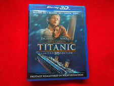 Titanic (Blu-ray Disc, 2012, 4-Disc Set, Includes Digital Copy; UltraViolet;...