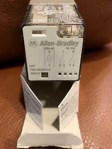 Allen-Bradley 700-HA32A1-4 Relay Series D,120vac Coil, 2 pole, 8 pin base, 10Amp