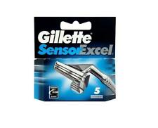 Gillette Sensor Excel Razor Blades Pack Of 5 For Men Shaving