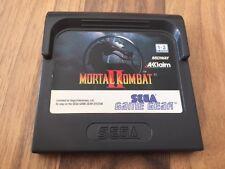 Game Gear:     MORTAL KOMBAT 2    en loose