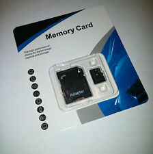 256GB microSD SDHC Flash TF Memory Card Class 10 Micro SD Free SD Adapter