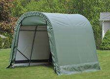 ShelterLogic 8x8x8 Round Style Portable Garage Shed Instant Canopy 76803