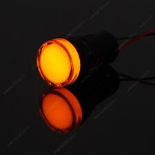 5×Yellos 22mm AC220V LED Indicator Signal Light