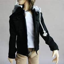 528# noir amovible gris clair capuchon hoodies manteau veste SD17 DZ70 bjd dollfie