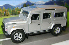 NEW 4X4 DEFENDER SILVER LAND ROVER CAR TEAMSTERS BOXED