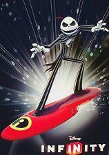 Disney Infinity EXCLUSIVE Jack Skellington TEXTURE Poster GLOW IN THE DARK Promo