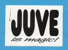 JUVE NELLA LEGGENDA-Ed.MASTER 91-Figurina/ADESIVO FUORI RACCOLTA n.13 -NEW