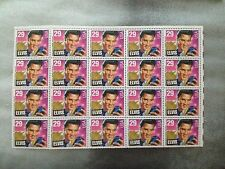 1992 Elvis Presley 29 cent Stamps (set of 20)
