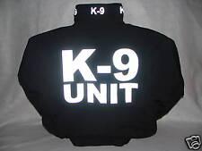 Reflective K-9 Jacket, K-9 UNIT,(bg) Police K-9, K9, 3X