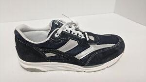 SAS Tour Mesh Sneakers, Blue Suede, Women's 9.5 Narrow