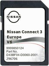 Neu V6 2021-22 * NISSAN CONNECT 3 SD KARTEN  EUROPA  QASHQAI JUKE MICRA NOTE