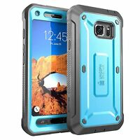 For Samsung Galaxy S7 ACTIVE SUPCASE Beetle Pro Rugged Holster Case with Screen
