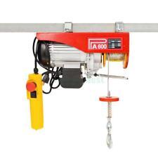 1320 lbs Electric Mini Wire Hoist Remote Control Garage Auto Shop Overhead Lift