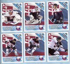 2014 Russian Ice Olympic Hockey (Sochi) Slovakia Olympic Team Set (11)