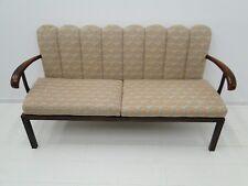 5120D-Art Deco Bank-Sitzbank-Polsterbank-Art Deco Sofa-Sitzmöbel-Couch-Bank-Pols