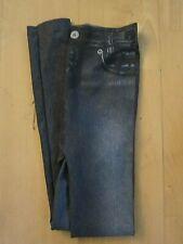 jeggings jeans leggings anthrazit M ungetragen 5 pocket optik print