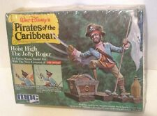 DISNEY PIRATES OF THE CARIBBEAN MODEL KIT MPC 1972 UNBUILT SEALED DAMAGED BOX