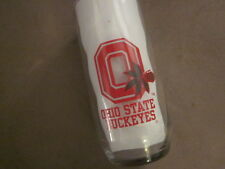 OHIO STATE UNIVERSITY GLASS (Big Ten Buckeyes / Columbus) RED PYRO graphic