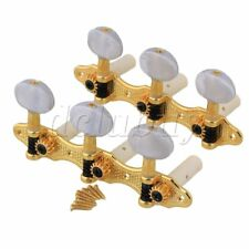 GOLD CLASSICAL GUITAR MACHINE HEADS 3+3 TUNERS FOR NYLON STRINGS CLASSIC