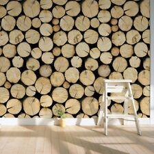 Wood Log Tree Contact Paper Liner Self Adhesive Wallpaper Mural Wall Arts Decal