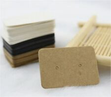 25PCS - DIY Jewellery Kraft Paper Earrings Display Holder Card Tag Craft - 3 Col