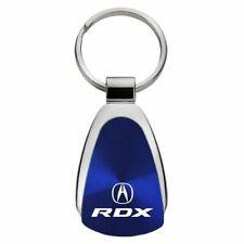 Acura RDX Key Ring Blue Teardrop Keychain
