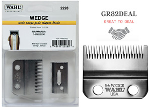 Wahl 2228 Wedge Wide Range Fade Replacement Clipper Blade For 5-Star Legend NEW