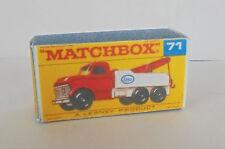 Repro Box Matchbox 1:75 Nr.71 Ford Heavy Wreck Truck