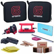 Complete Ski And Snowboard Tuning Kit w/ Dual Voltage Waxing Iron & Scraper