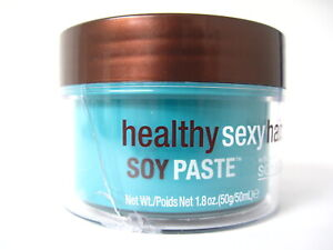 Healthy Sexy Hair Soy Paste Soya & Cocoa Texture Pomade 1.8 oz CRACKS, TOUCHED