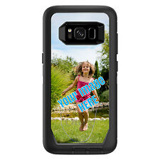 CUSTOM OtterBox Defender for Galaxy S6 S7 S8 S9 S10 PLUS Your Image Photograph