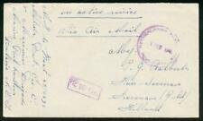 "Netherlands Indies 1946 cover/""on active service"""