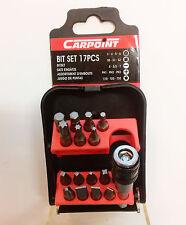 Carpoint 06.410.52 Bit Set 17 Teile 0641052 Bitset T10 - T20 PH1 - PH3 S0 - S2