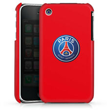 Apple iPhone 3Gs Premium Case Cover - PSG 3D Logo - Rot