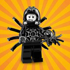 LEGO 71021 Minifiguren Serie 18 Party Junge Spinnenkostüm Spider Suit Boy Spinne