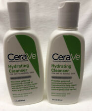 2 CeraVe Hydrating Cleanser for dry to normal skin 3 fl oz (87 ml )