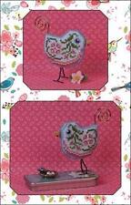 Bluebird Tweet - Just Nan Limited Edition Ornament - Chart, Embellishments