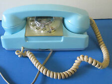 Vintage 1960'S STARLITE Automatic Electric Blue Princess Rotary Dial Phone Retro