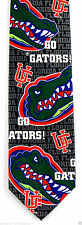 Florida Gators Mens Necktie University College Alumni Ralph Marlin Blue Neck Tie