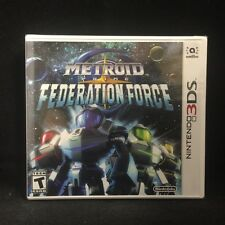 Metroid Prime: Federation Force (Nintendo 3DS, 2016) BRAND NEW