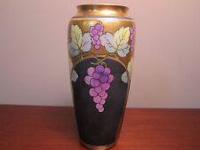 Rosenthal Bavaria Pickard Lustre Grapes and Leaves Vase Robert Hessler 1907-1910