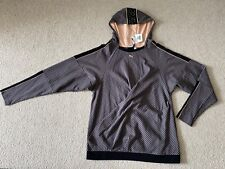 NWT Puma By Rinat Brodach Making The Cut Stripe Hooded Pullover Sweater Sz Large