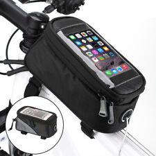 Fahrrad Handy Halterung Fahrradtasche Smartphone wasserdichte Rahmentasche