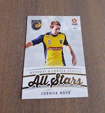 2013-14 A LEAGUE SOCCER TRADING CARDS ALL STARS JOSHUA ROSE CARD AS15