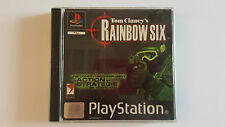 RAINBOW SIX Tom Clancy's / jeu Playstation 1 - PS one / complet / PAL